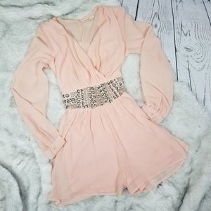 Dresses & Skirts - Pink Studded Romper